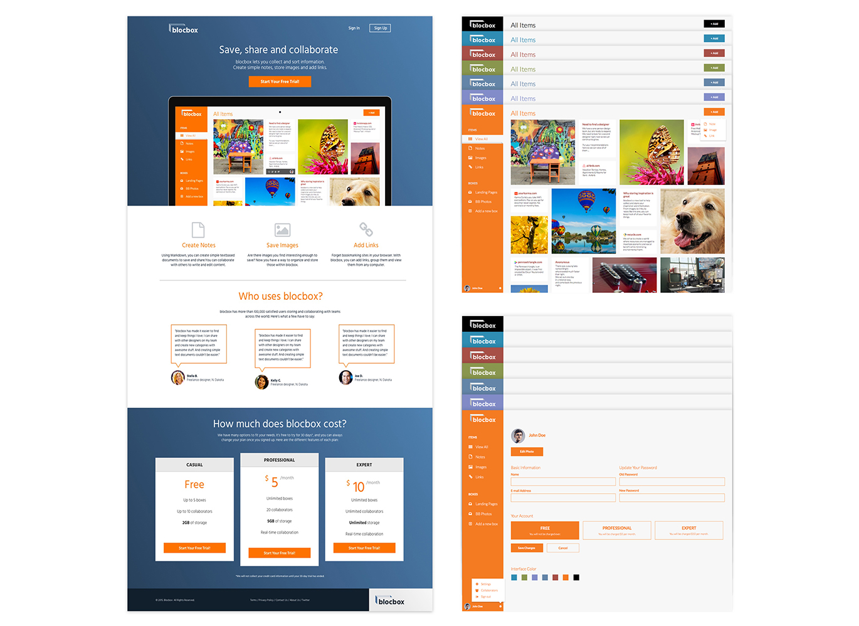 blocbox_hi-fi_orange_wireframes